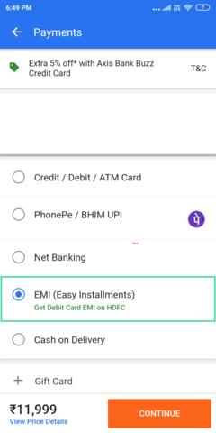 Debit Card EMI on Flipkart and Amazon: Everything You Need